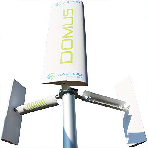 Windkraft bauen garten DOMUS 500/750 / 1000 W Windgenerator mini micro windkraftanlagen Rotorblätter vertikale Darrieus Savonius 1KW
