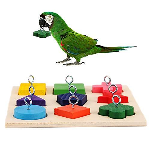 Geneic Parrot Wooden Block Puzzl...