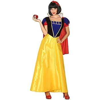 Atosa-39376 Disfraz Princesa de Cuento, Color Amarillo, M-L (39376 ...