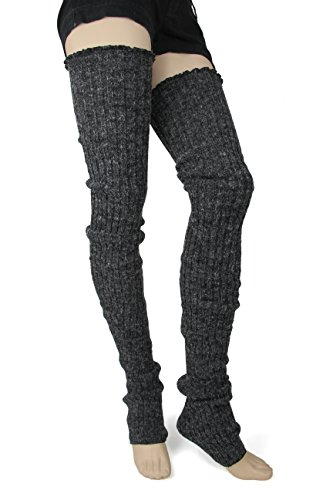 Foot Traffic Super Long Cable Knit Leg Warmers, One Size, You Choose the Colors