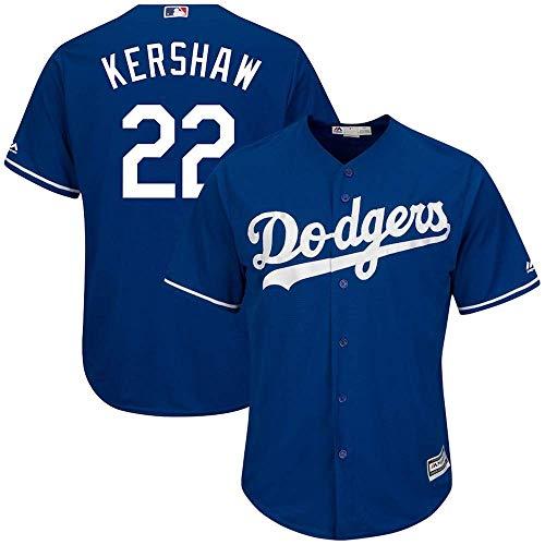 Lalagofe MLB 2019 - Camiseta de béisbol Personalizada para Hombre y Mujer, Unisex Adulto, Los Angeles Dodgers Blue, Men-M