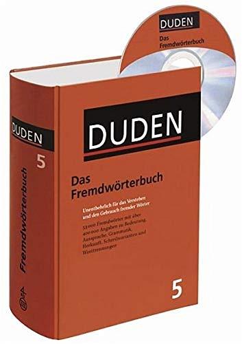 Das Fremdwörterbuch - Buch plus CD: Unentbehrlich für das Verstehen und den Gebrauch fremder Wörter