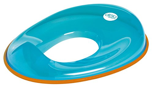 dBb Remond 304449 kinder-toiletbril turquoise transparant
