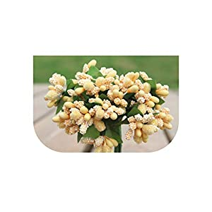 Bling-Bling Case Handmade Beautiful Artificial Flowers Wedding Decoration DIY Garland Embroidery Gift Box,A,10Pc