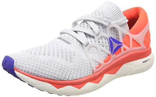 Reebok Floatride Run Ultk, Zapatillas de Trail Running para Hombre, Multicolor (Spirit White/Cloud Grey/Atomic Red/Blue 000), 45.5 EU