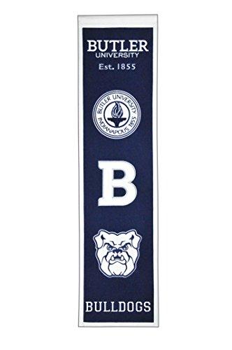 Winning Streak Sports NCAA Notre Dame Fighting Irish Heritage Banner - Vintage Notre Dame College Sports Wall Décor