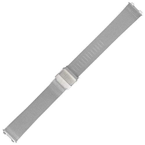 Skagen Uhrenarmband 14mm Edelstahl Silber - 233SGSC