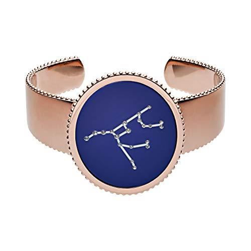 Emporio Armani Damen-Manschetten Armbänder Edelstahl zirkonia EGS2615221