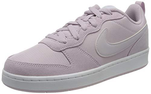Nike Court Borough Low 2 PE (GS), Scarpe da Basket, Ice Lilac Barely Grape White, 38 EU
