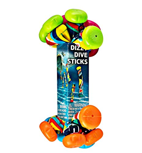 Diving Masters Dive Sticks 8 Pack- Orange Red Blue and Green California