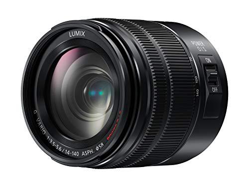 Panasonic H-FSA14140E Superzoom Objektiv LUMIX G (14-140mm (KB), Staubschutz, Spritzwasserschutz, F3,5-5,6 II ASPH. Power OIS