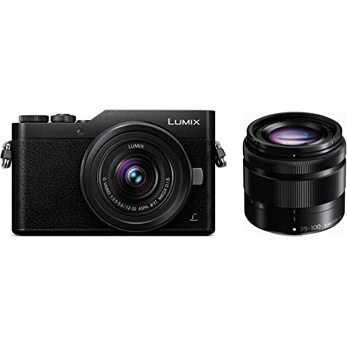 Panasonic Lumix DC-GX800 + 12-32 mm + 35-100 mm Kit noir
