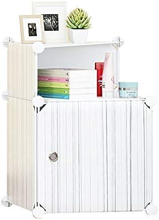 Cubic Cabinet, Off White - H 54 cm x W 37 cm x D 37 cm