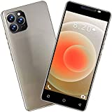 Unlocked Smartphones, pro Android 9.1 Smart Phone HD Full Screen Phone, Dual SIM Unlocked Cell Phone, 1+4GB RAM 5.0inch Water Drop Screen Touch Screen Mobile Cell Phone (Gold)