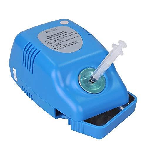 MXBAOHENG Desechable Insulina/Acupuntura/Destructor de Aguja Dental Doble Protección de Sobrecalentamiento CE & ISO BD-320 30G-34G Para Uso en el Hogar Solamente