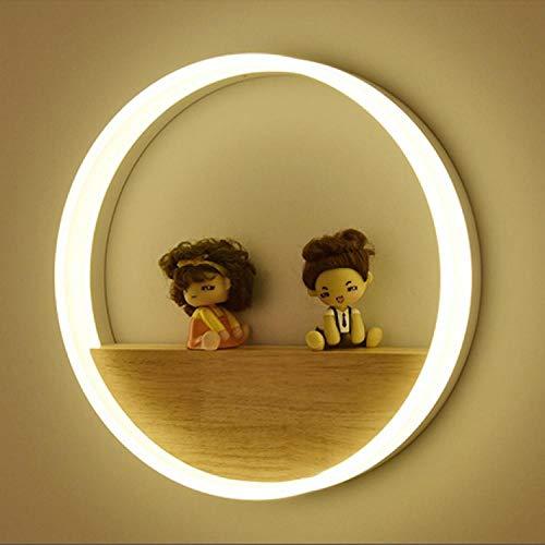 MJSM Light wandlamp binnen buiten led Marvel Nordic lampen eenvoudig en creatief originele houtkunst woonkamer decoratie binnenbed