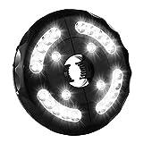 Sonnenschirm LED Beleuchtung 3 Modi Sonnenschirmbeleuchtung 24 Leds Schirmlampe Batterietrieben LED...