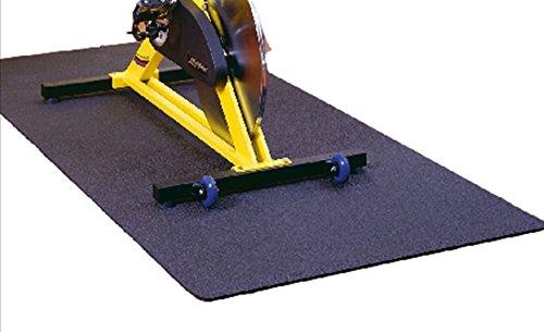 Friedola Uni Sportmatte Unterlegmatte Floor Protect, anthrazit, 70 x 130 x 0,7 cm, 24924