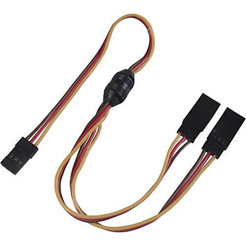 Modelcraft Servo Y-Kabel [2X JR-Stecker - 1x JR-Buchse] 30.00 cm 0.14 mm²