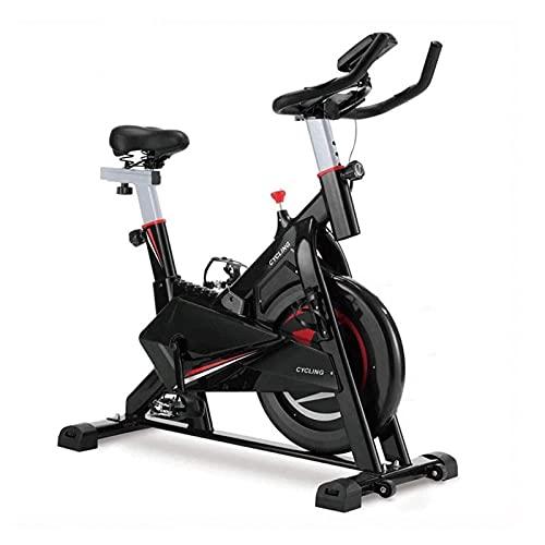 Estacionaria bicicleta estática cubierta ciclo de la bici, ultra silencioso ajustable entrenamiento magnética de bicicletas for uso en el hogar, plegable vertical cubierta ciclo de la bici con el moni