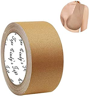 Boob Tape Nude Plus for D Cup up Size, for Large Size Diy Boob Lift Job, Body Tape, Breast Lift Tape,Bra Tape,Foot Tape,Fa...