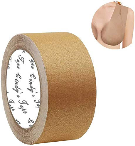 New Breast Lift Tape boobytape Nude Plus for Large Size Breast, for D Cup up Size, DIY Breast Lift Job, Body Tape,Bra Tape,Medical Grade and Waterproof.Kim K's Trick.Better Than Gaffer Tape (Unisex)