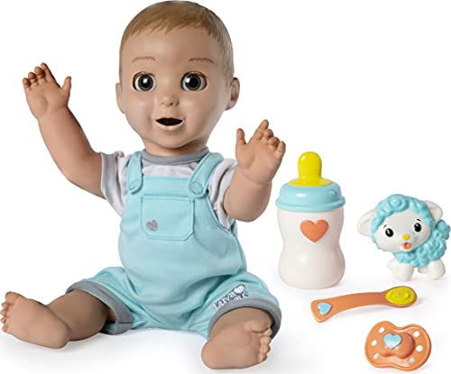 Luvabeau, Responsive Baby Doll with Real Expressions and Movement, for...