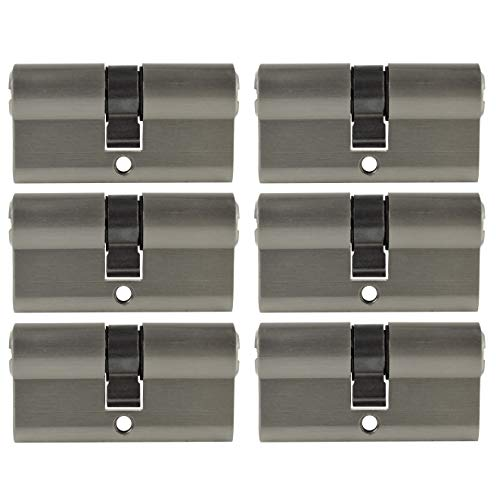 6x Profilzylinder 60mm 30/30 30x Schlüssel Tür Zylinder Schloss gleichschließend