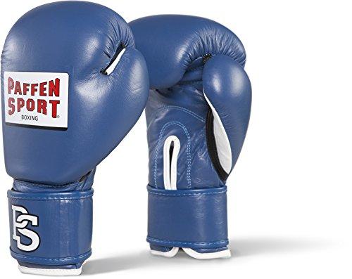 Paffen Sport Contest Wettkampf-Boxhandschuhe mit DBV-Prüfmarke; blau; 10UZ