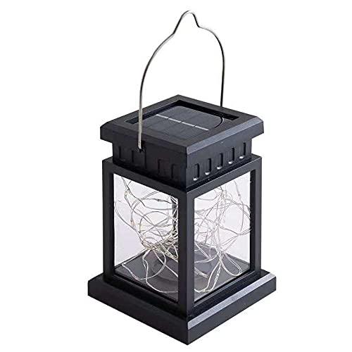 Farolillos solares para decoración de jardín solar, luz LED solar exterior impermeable luz solar jardín...