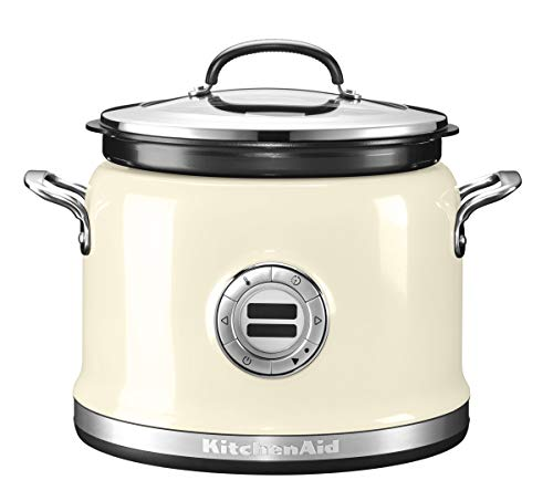 KitchenAid 5KMC4241EAC 5KMC4241 Multi-Cooker-CRÈME, Edelstahl, Almond Cream