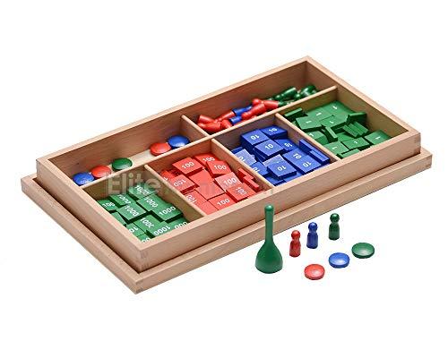Elite Montessori Stamp Game