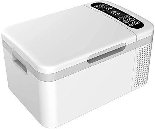 KJRJBX Coche y el hogar 25L refrigerador portátil de Calentamiento de Mini refrigerador y Caja de refrigeración más fría del refrigerador eléctrico insulina preservación 12V / 24V / 220V