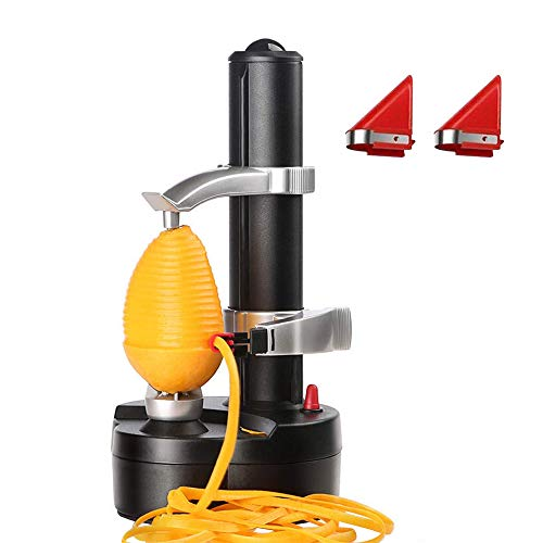 Tieesa Multifunctional Electric Peeler Automatic Potato Peeler Mango Peeler Rotating