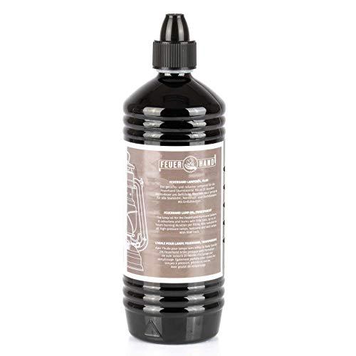 FEUERHAND Lampenöl für Petroleum und Öl Lampen Flüssigbrennstoff Brennstoff Paraffinbasis Petromax