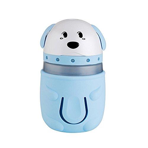 CZKQJHQ Auto-luchtreiniger, mini-aromatherapy, luchtbevochtiger voor auto's, voor het elimineren van geuren, multifunctioneel, blauw