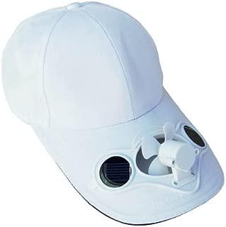 Solaration174; 7001 White Fan Baseball Golf Hat