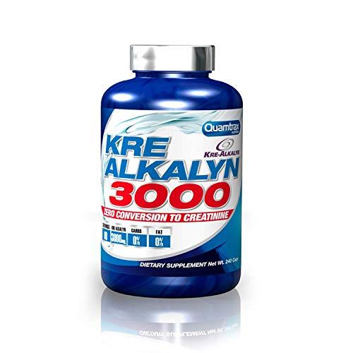 Quamtrax Nutrition Supplemento Nutrizionale Kre-Alkalyn 3000, 240 Caps - 212.4 gr