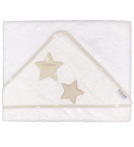 Andy & Helen Albornoz triangular 600D50 color crema bordado de rizo 100% algodón