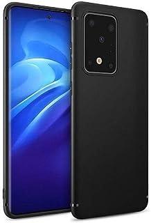 For Samsung Galaxy S20 Plus Silicone Back Case TPU - Black
