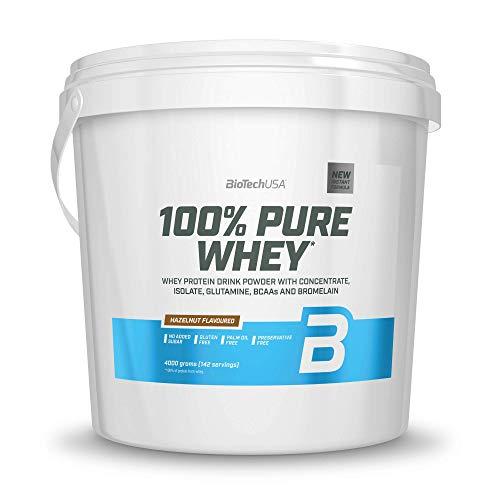 BioTechUSA 100% Pure Whey, Hazelnut, 4.5 kg