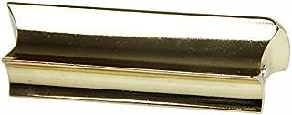 Timiy Stainless Steel Hawaii Electric Guitar Guitar Bass Lap Slide Bar Stick Silver Tone / (gold)