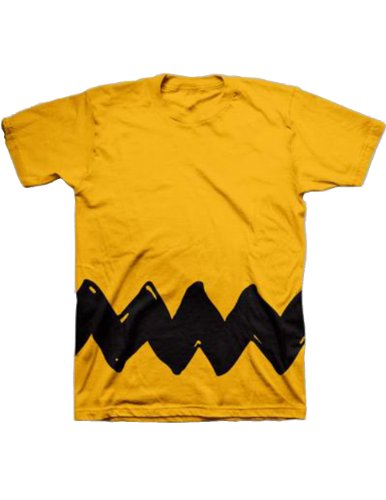 Peanuts Charlie Brown Costume T-Shirt (Adult XX-Large)