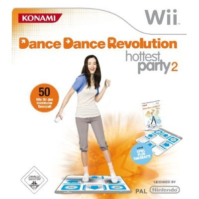Dance Dance Revolution: Hottest Party 2 inkl. Tanzmatte  (mit GameCube-Anschluss)