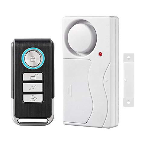 HENDUN Wireless Remote Door Alarm, Windows Open Alarms,Magnetic Security Sensor, Pool Door Alarm for Kids Safety, Alzheimer