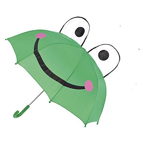 Kids Boys Girls Childrens 3D Umbrella (Frog)