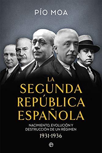 La Segunda República Española de Pío Moa