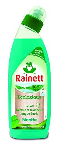 Rainett Produit d'Entretien Gel WC Menthe Ecologique 750 ml