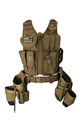 Special Operations Tool Gear Tactical Tool Vest from Special Operations Tool Gear
