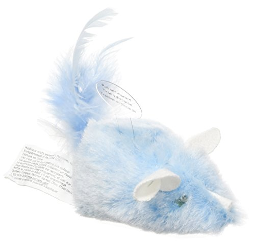 OurPets Brinquedo de gato Play-N-Squeak at Night Twinkle Mouse